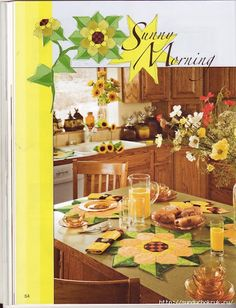 Kitchen Ideas on Pinterest | Sunflower Kitchen, Sunflower Kitchen ...
