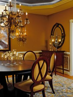 Traditional Dining Room Design, Pictures, Remodel, Decor and Ideas - page 9