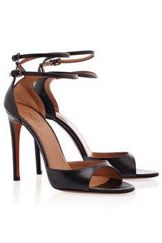 AZZEDINE ALAIA Double Ankle Strap High Heels
