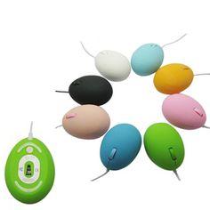 Ratón con diseño de huevo, adiós al ratón que todo el mundo tiene su particular forma hace que tu mano se sienta muy cómoda