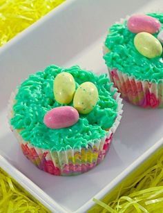 Your Easter cupcakes