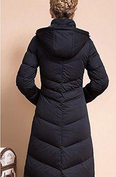 Ilishop Women's Winter Coat Plus Size Long Down Jacket with Hood http://www.effyourbeautystandarts.com/ilishop-womens-winter-coat-plus-size-long-down-jacket-with-hood-3/