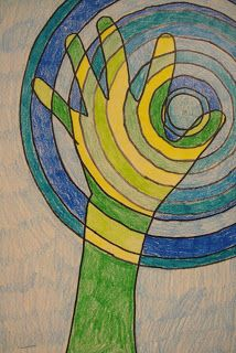 Framed in Swirly Gold: Pictures of early year projects