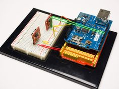 Another view of the MySQL Arduino Logger