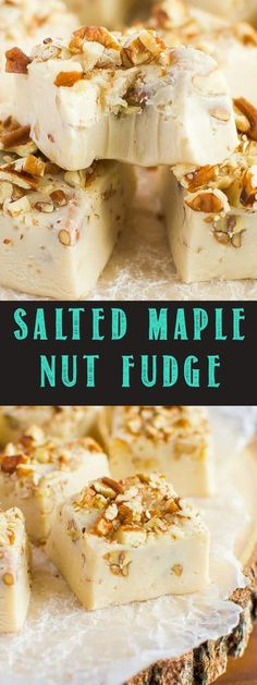 It's not the holidays without fudge, and this No Fail, Easy Salted Maple Nut Fudge will be a welcome addition to any holiday party, cookie tray, or gift box!