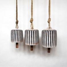 Striped Wide Thrown Bells