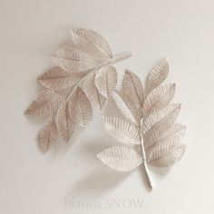 silvery branch bridal hairpiece by Bianca Snow