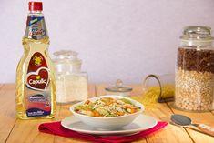 Sopa minestrone con alubias