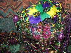 My Mardi Gras Decor - Holiday Forum