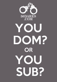 Find out which you are @ 50Dares.com