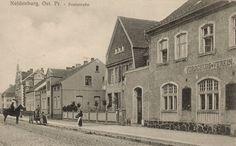Neidenburg, Poststraße 1914.