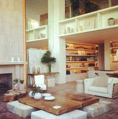this looks very earthy.... very organic and airy  I just love the look of the whole space, it looks like a fun, calm place to be in!! of course i'd put my own detail to it but, over all this looks cool and different!!