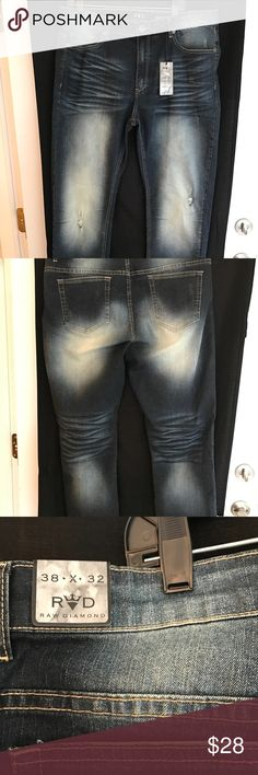 Men's Raw Diamond Jeans Brand new with tags. Men's size 38 x32 Raw Diamond Brand. Smoke free home raw diamond Jeans Slim