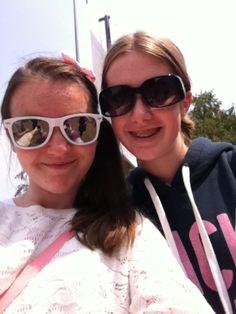 sarah :-) and me