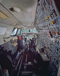 Engineer's seat, Concorde. I've been on a Concorde they are exceptional but very cramped.