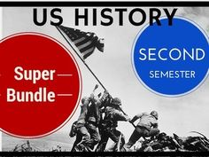 US History Second Semester SUPER BUNDLE