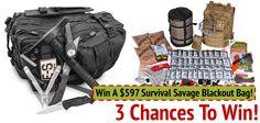 Savage Survival Blackout Bag FREE Champagne Punch Recipes, Savage, Make It Simple, Survival, Marketing, Bags, Free, Handbags, Bag