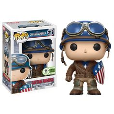 From Marvel it's Captain America First Avenger in Funko Pop form! Pop Figurine, Figurines Funko Pop, Funko Figures, Vinyl Figures, Action Figures, Funk Pop, Captain Marvel, Captain America, Marvel Avengers