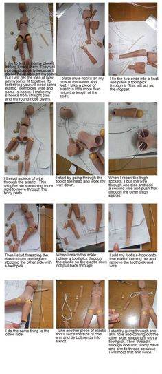 Woodland Earth Studies - Sculpting a BJD, there are lots of other pages for hands, feet and body so do follow the links: