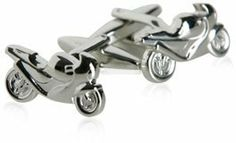 Sport Bike Silver Cufflinks with Gift Box Cuff-Daddy. $27.49. Made by Cuff-Daddy. Arrives in hard-sided, presentation box suitable for gifting.. Save 54% Off!
