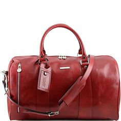 Tuscany Leather TL Voyager - Travel leather duffle bag - Large size Red Tuscany Leather http://www.amazon.com/dp/B00LFJUGTA/ref=cm_sw_r_pi_dp_QVawvb0ANTTN6