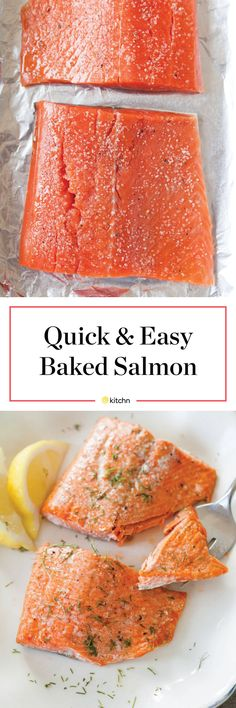 "How to Cook Salmon in the Oven. If you want ""easy, fancy,"" it doesn't get much better than roasted salmon fillets in a pan. It can be one of your new favorite healthy weeknight date night dinners, an al fresco meal with friends, or dinner to impress your in-laws. Roast salmon will rise to the occasion. This is the easiest, simplest way to get food on the table fast. Make this recipe once and you'll always have ideas for dinner; you'll never wonder what to do with salmon again."