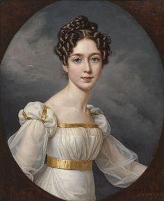 Josephine Kronprinzessin von Schweden, by Joseph Karl Stieler (1781-1858)