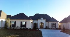This Completed #CustomHome is just one new home that has been built in our new St. Tammany Parish #Neighborhood!