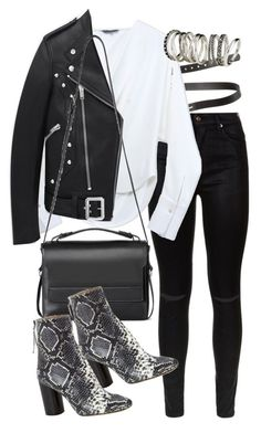 """Untitled #1836"" by mariie00h ❤ liked on Polyvore featuring Acne Studios, 7 For All Mankind, Maiyet, Yves Saint Laurent, AllSaints, Isabel Marant, H&M and Inspired"