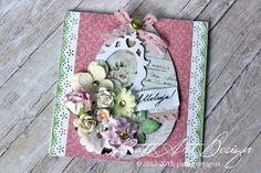 Kartka Wielkanoc #kartka #Wielkanoc #handmade #rekodzielo