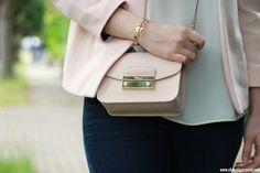 Furla mini Metropolis bag in pink Furla Metropolis Mini, Furla Bag, Bago, Me
