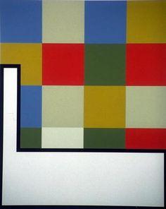 Juhana Blomstedt: Härskaren, 1990, serigrafi, 36,5x45 cm - Kunst på Arbeidsplassen Finland, Abstract Art, Contemporary, Painting, Home Decor, Kunst, Decoration Home, Room Decor, Painting Art