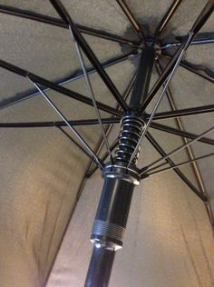 A small compression spring in an umbrella. Compression Springs, Bicycles, Bike, Bicycle, Biking