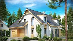 Projekt domu SZ5 Z135 - DOM OZ4-32 - gotowy projekt domu