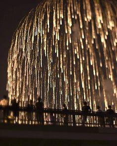 the last of the last fireworks, my favorite kind chandelier fireworks
