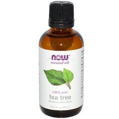 Now Foods, Essential Oils, Tea Tree, 2 fl oz (59 ml) - iHerb.com