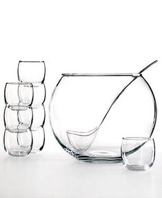 The Cellar 10-Piece Punch Bowl Set - Bar & Wine Accessories - Dining & Entertaining - Macy's