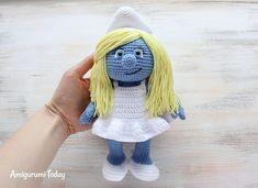 Crochet Smurfette Amigurumi Pattern