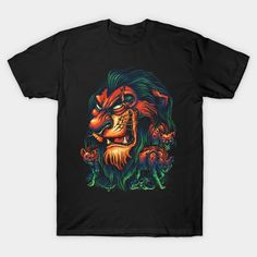The Uncrowned King T-Shirt - Lion King T-Shirt is $19 today at Ript! Lion, Things To Sell, Disney, Mens Tops, T Shirt, Leo, Supreme T Shirt, Tee Shirt, Lions