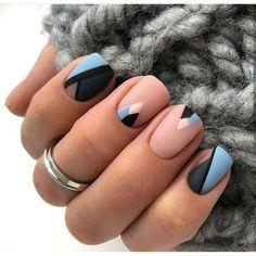 Top Stunning Blue Nail Designs Spring 2020 – Page 27 – Small Flash nails coffin Square Nail Designs, Short Nail Designs, Nail Designs Spring, Light Blue Nail Designs, Simple Designs, Elegant Nail Designs, French Nail Designs, Short Square Nails, Short Nails