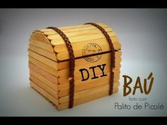 DIY: Baú de papelão { Stop motion } - YouTube