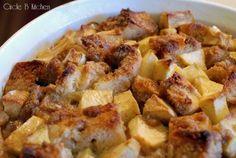 Baked Apple Bread Pudding - Circle B Kitchen - Circle B Kitchen