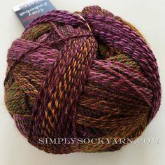 Zauberball Crazy 2312 #sockyarn #self-stripingsockyarn #stripes #twisted #knittingsocks #fingering