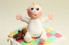 Baby cake decoration