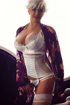 Free Porn Pics Of Girdle Corselette And Stockings