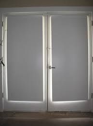 image result for roller blinds on french doors