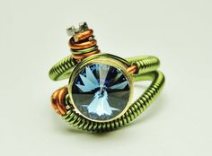 Bullet Casing ring cyberpunk  steampunk jewelry  by keoops8, $42.00