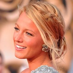 Blake Lively Side Plait hairstyle