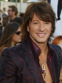 Named my electric after him xD Richie Sambora- is part of Bon Jovi band, but I do not know how many of you know what a great voice he has. I love Richie's voice!