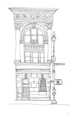 All the Buildings in New York: Drawings by James Gulliver Hancock